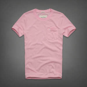Abercrombie 아베크롬비 남녀공용 반팔 티셔츠 잭레빗트레일(Jackrabbit Trail) - 핑크
