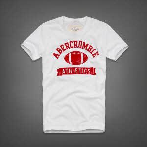 Abercrombie 아베크롬비 남녀공용 반팔 티셔츠 제이레인지(Jay Range) - 화이트