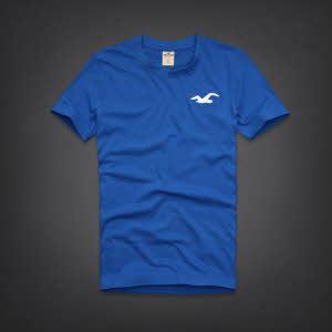 Hollister 홀리스터 반팔티 헐모사(Hermosa) - 블루