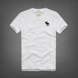 Abercrombie 아베크롬비 남녀공용 반팔 티셔츠 캠쉘마운틴(Kempshall Mountain) - 화이트