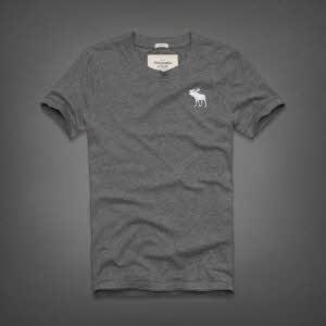Abercrombie 아베크롬비 남녀공용 반팔 티셔츠 캠쉘마운틴(Kempshall Mountain) - 그레이