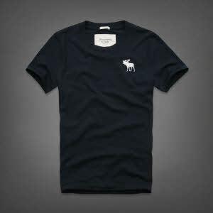 Abercrombie 아베크롬비 남녀공용 반팔 티셔츠 캠쉘마운틴(Kempshall Mountain) - 네이비