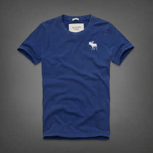 Abercrombie 아베크롬비 남녀공용 반팔 티셔츠 캠쉘마운틴(Kempshall Mountain) - 다크블루