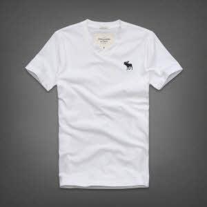 Abercrombie 아베크롬비 남녀공용 반팔 티셔츠 킬번마운틴(Kilburn Mountain) - 화이트