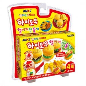 아이도우 컬러점토 햄버거만들기(AM-820)