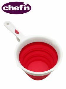 Chef'n 쉐픈 주방용품 손잡이와 그릇이 접히는 접이식 계량컵