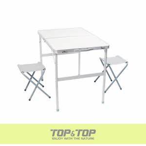 [탑앤탑] 알루미늄 레져 테이블 세트2