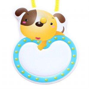 옷핀형 명찰 (강아지)(5개입)