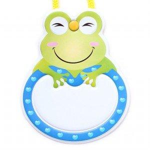 옷핀형 명찰 (개구리)(5개입)