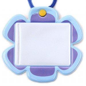플라워 유아초등용명찰(파랑)(5개묶음)