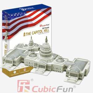 [큐빅펀] (3D입체퍼즐) 미국 국회의사당 (MC074H)