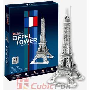 [큐빅펀] (3D입체퍼즐) 에펠타워 (C705H)