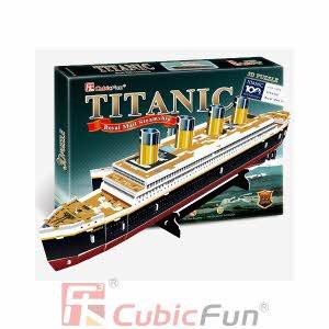 [큐빅펀] (3D입체퍼즐) 타이타닉-S (T4012H)