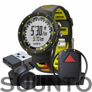[순토] Quest Yellow GPS Pack (GPS Track POD / Movestick Mini / Foot Pod Mini)