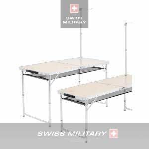 [스위스밀리터리] 2폴딩 랜턴걸이 테이블