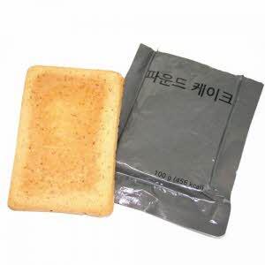[전투식량] 파운드케이크
