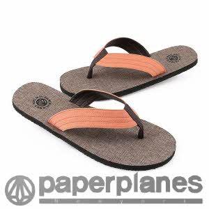 [페이퍼플레인] PP1155 orange 샌달/신발/쪼리/슬리퍼/플립