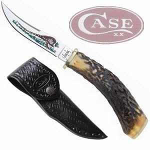 [케이스XX] 나이프 00341 캠핑용 나이프/Pheasant Hunter-사슴뿔재질 손잡이
