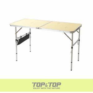 [탑앤탑] 슬림 2폴딩 테이블 / 케이스