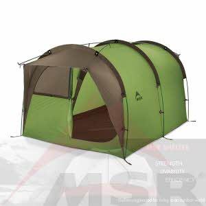 [엠에스알MSR] 백컨트리반 Backcountry Barn™ Single-Wall Tent / 풋프린트