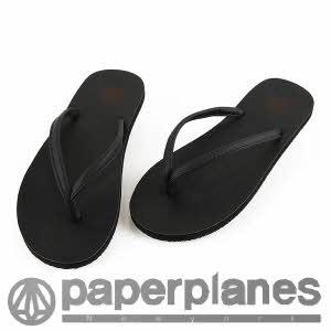 [페이퍼플레인] PP1151 black 샌달/신발/쪼리/슬리퍼/플립