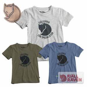 [피엘라벤] 스페셜리스텐 티 아동용 Specialisten T-shirt Kids