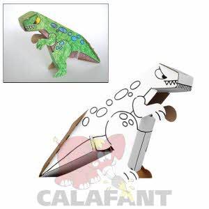 [칼라판트] 공룡 (6펜포함 A1009X)