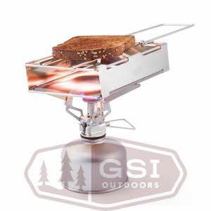 [지에스아이 GSI] 스텐레스 토스터 Glacier Stainless Toaster