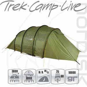 [노르디스크] 레이사 6 PU 텐트 (그린)