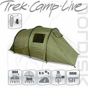[노르디스크] 레이사 4 PU 텐트 (그린)