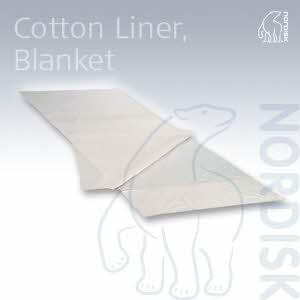 [노르디스크] 코튼 사각라이너 COTTON LINER BLANKET