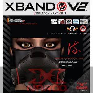 [나루] X-BAND 마스크 V2 - 사계절용
