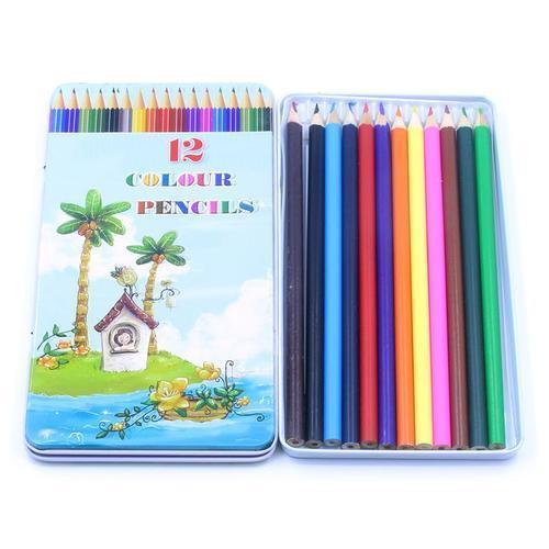 3000 틴케이스 12색 색연필세트 어린이집 유치원 선물