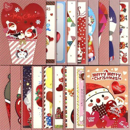 1000 크리스마스카드 입체카드 10개입 단체선물