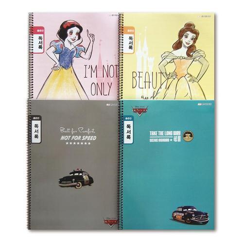 1000 초등학생공책 독서록 좁은칸 10권 초등학교노트 스프링노트