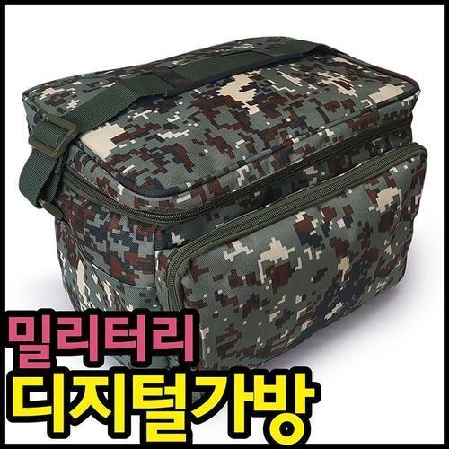 밀리터리 가방 b1 디지털무늬 다용도 캠핑가방 여행가방