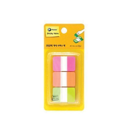 3100 프린텍 인덱스테이프(네온3색) IT3825-3N 포스트잇 플래그