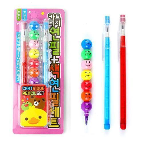 1000 카트리지 연필 색연필세트 어린이집 유치원 선물