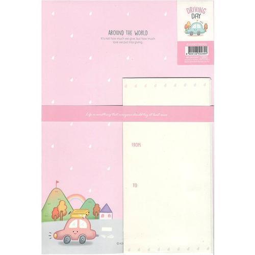 1000 쿠키프렌즈 편지지세트 편지지6장 편지봉투3장