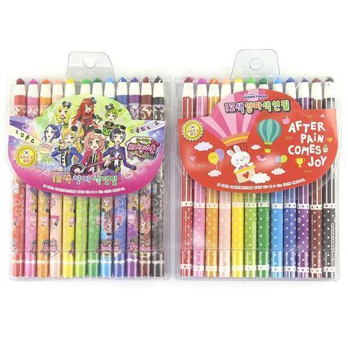 4000 바른손 꼬마또래 12색 양파 색연필