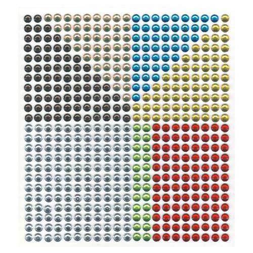 2000 쿠키프렌즈 DIY 블링블링 크리스탈 스티커