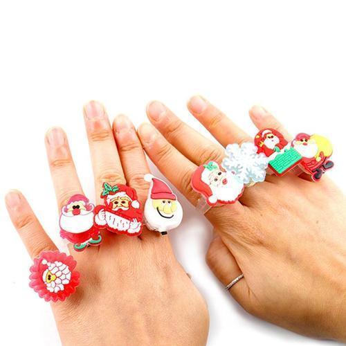 500 크리스마스 라이트 반지 50개묶음 어린이단체선물