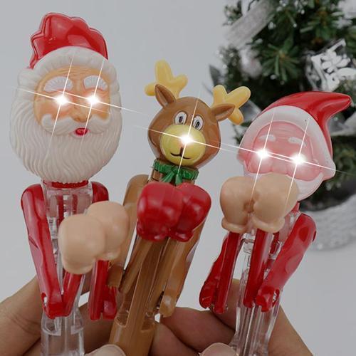 2000 크리스마스 권투 라이트볼펜 단체 어린이선물