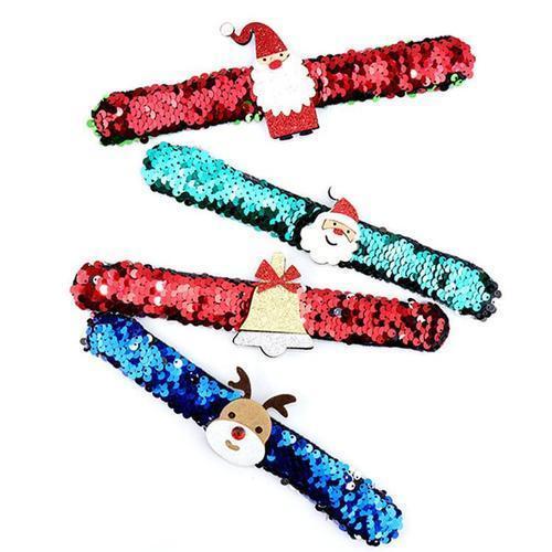 1500 크리스마스 스팽글 팔찌 어린이 단체선물