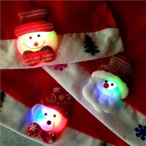 2000 크리스마스 LED 라이트 산타모자 크리스마스선물