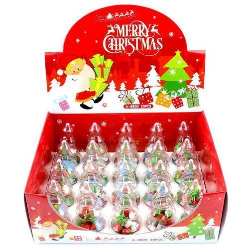 1000 크리스마스 와글와글 트리지우개세트 단체선물