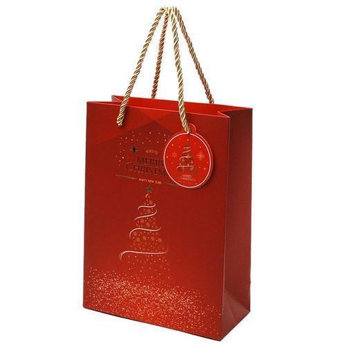 1500 크리스마스 트리 쇼핑백 a타입(소) 무광코팅