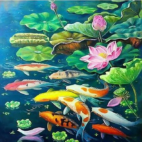피포페인팅 Q3835 하모니즈 DIY명화그리기 홈갤러리