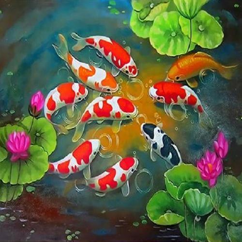 피포페인팅 Q3883 하모니즈 DIY명화그리기 홈갤러리