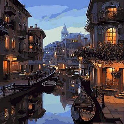 피포페인팅 Q1311 베네치아 DIY명화그리기 홈갤러리